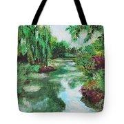 L'etang De Claude Monet, Giverny, France Tote Bag