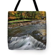 Letchworth Falls Sp Wolfe Creek Tote Bag