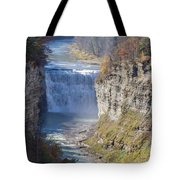 Letchworth Middle Falls Tote Bag