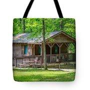 Letchworth State Park Cabin Tote Bag