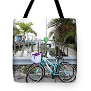 Let's Bike There Tote Bag