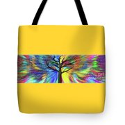 Let's Color This World By Kaye Menner Tote Bag