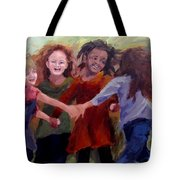 Lets Dance Tote Bag