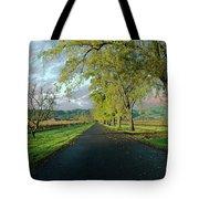 Let's Drive Through The Vineyard Tote Bag