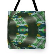 Let's Get Around It Abstract  Tote Bag