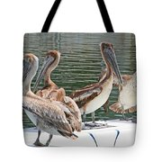 Lets Go Fishing Tote Bag