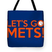 Let's Go Mets Tote Bag