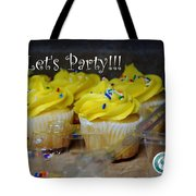 Let's Party Cupcakes Tote Bag