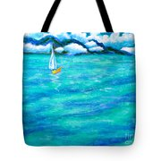Let's Sail Away Tote Bag