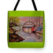 Lets Stay Here  Tote Bag