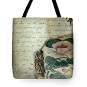 Letter From India Tote Bag