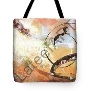 Letters Track Tote Bag