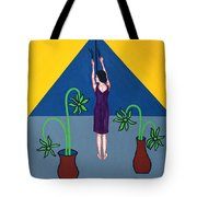 Letting In The Light Again Tote Bag