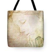 Lettre A Mon Amour Tote Bag