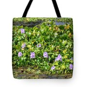 Lettuce Lake Flowers Tote Bag