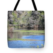 Lettuce Lake With Bridge Tote Bag