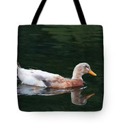 Leucistic Mallard Tote Bag