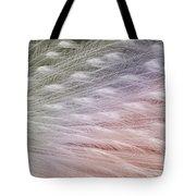 Leucistic Peachick Tote Bag