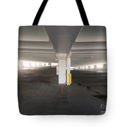 Levels Of A Parking Structure Tote Bag