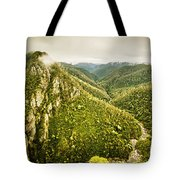 Leven Canyon Reserve Tasmania Tote Bag