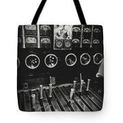 Levers And Gauges Tote Bag