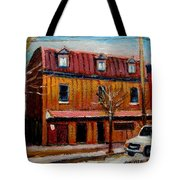 Levine Brothers Plumbers Montreal Tote Bag