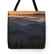 Lewis And Clark Route 2 Tote Bag