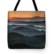 Lewis And Clark Route Tote Bag
