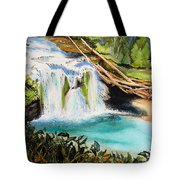 Lewis River Falls Tote Bag