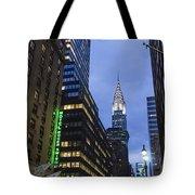 Lexington Avenue, Chrysler Building, New York  Tote Bag by Juergen Held