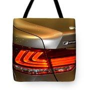 Lexus Ls 460 F Sport Tail Light Tote Bag