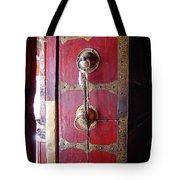 Lhasa Temple Door Tote Bag