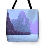 Li River Boaters Tote Bag