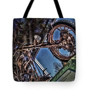 Liberty Ambassador Copper Motorcycle Statue Of Liberty Ny Tote Bag