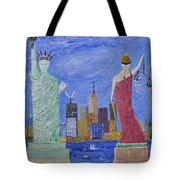 Liberty And Justice  Tote Bag