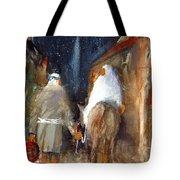 Liberty - Arriving In Bethlehem Tote Bag