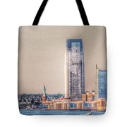 Liberty In The Distance Tote Bag