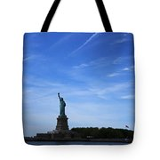 Liberty Island Statue Of Liberty Tote Bag