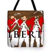 Liberty Revolution Brown Tote Bag