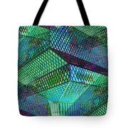 Library Angles Tote Bag