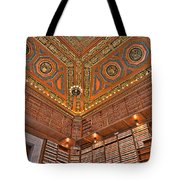 Library Details Tote Bag