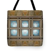 Library Of Congress Ceiling  Tote Bag