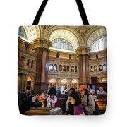 Library Of Congress, Main Reading Room, Jefferson Building - 2 Tote Bag