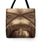 Library Of Congress Mural #3 Tote Bag