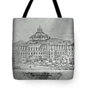 Library Of Congress Proposal 3 Tote Bag
