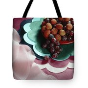 Lichees And Grapes Tote Bag
