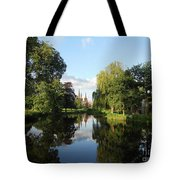Lichfield Cathedral Reflectons Tote Bag