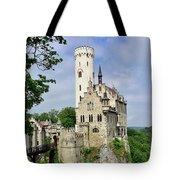 Lichtenstein Castle Tote Bag