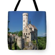 Lichtenstein Castle Tote Bag by Yair Karelic
