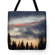Licorice In The Sky Tote Bag